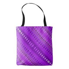Purple pattern tote bag #zazzle #fashion #handbags