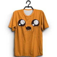 Jake Face Tshirt This t-shirt is Made To Order, one by one printed so we can control the quality. New T Shirt Design, Shirt Print Design, Shirt Designs, Camisa Emoji, Outfits For Teens, Cute Outfits, Cute Pajama Sets, Sims 4 Dresses, Geek Shirts