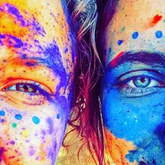 RADHAxKRISHNA=❤ Paint Photography, Photography Projects, Photography Poses, Holi Festival Of Colours, Holi Colors, Powder Paint, Color Powder, Polaroid Photos, World Of Color