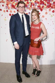 Caspar Jopling & Caroline Hoffman.    Guggenheim Museum: Young Collectors Party.