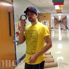 September 8, 2013: Matt Dallas doing some hands-on volunteering to help with preparations for Freedom Day USA (September 12) in Dallas, Texas. Don't forget, Matt really needs YOUR help to raise funds to make his feature film, Thunder Road. Please donate TODAY via the Thunder Road Indiegogo Page! No amount too small, and every contribution helps. MDW main site.Twitter.Facebook Page.YouTube Channel.Pinterest (Photo: Honor Courage Commitment Inc)