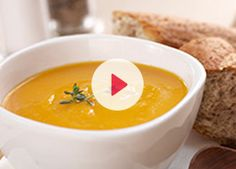 This wonderful, creamy winter soup makes a great lunchtime meal or the perfect starter for any winter feast. Creamed Asparagus, Asparagus Recipe, Creamed Mushrooms, Stuffed Mushrooms, Baked Potato Soup, Sweet Potato Soup, Carnation Milk Recipes, Pea And Mint Soup, Spicy Lentil Soup