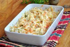 Salata Coleslaw - rețeta simplă, perfectă ca garnitură Coleslaw, Potato Salad, Macaroni And Cheese, Salads, Food And Drink, Potatoes, Meals, Cooking, Ethnic Recipes