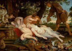Giovanni Boccaccio - Page from Decameron. By Rubens.