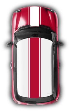 MightyStripes - Motoring Towards Unique - MINI Cooper Decals