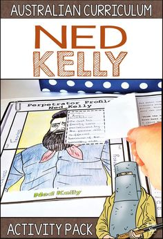 This Ned Kelly activity pack is loaded with fun lesson ideas and teaching resources for your Year 5 HASS Australian History students. They will love completing Ned's Bushranger criminal file and deciding whether he was a hero or villain. All of our resour Primary Teaching, Primary Classroom, Primary School, Curriculum Planning, Homeschool Curriculum, Homeschooling, Teaching History, Teaching Resources, Ned Kelly