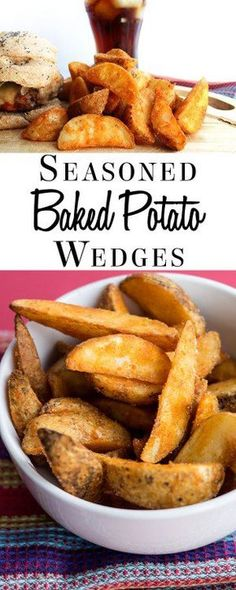 recipes for kids This super simple recipe for Seasoned Baked Potato Wedges from Errens Kitchen is a great recipe for fussy kids. It turns an ordinary potato into delicious homemade wedges that will top any store bought oven fry by a mile! Potato Wedges Recipe, Potato Wedges Baked, Baked Potatoes, Baked Potato Wedges Oven, Seasoned Potatoes, Cheesy Potatoes, Kfc Fries Recipe, Baked Potato Fries, Gastronomia