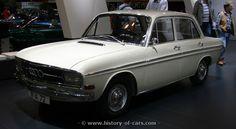 Audi 72 (F103) 4door sedan  1965-1968, Germany