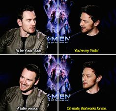 "When James told Michael that he was ""his Yoda"". 