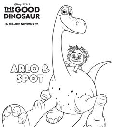 the good dinosaur printable coloring pages group board and craft. Black Bedroom Furniture Sets. Home Design Ideas