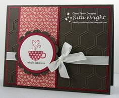 2013 SAB  Patterned Occasions stamp set, Honeyco0mb TIEF, Print Poetry DSP stack  Rita's Creations