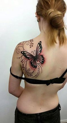 Butterfly Tattoos Designs for Girls (4)