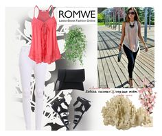 """""""romwe 2"""" by aida-1999 ❤ liked on Polyvore featuring Élitis"""