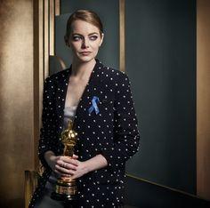 Emma Stone / Mark Seliger's Vanity Fair Oscar Party Portraits