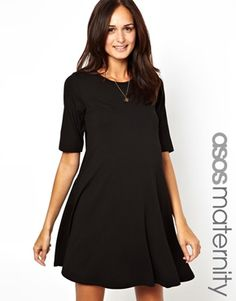 ASOS Maternity Exclusive Swing Dress With Half Sleeve