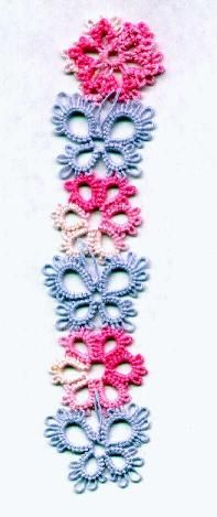 Flowers book mark or bracelet? could use butterfly or flower motifs individually for earrings or necklaces