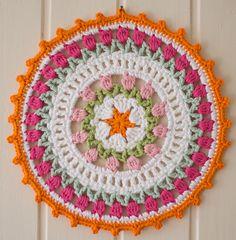 Ravelry: I Love Holland Dutch Tulips Crochet Mandala pattern by Marinke Slump