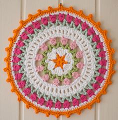 Ravelry: I Love Holland Dutch Tulips Crochet Mandala pattern by Marinke Slump