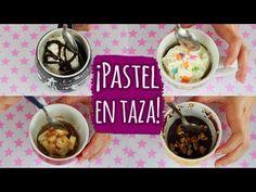 Vainilla Crocante - YouTube Cereal, Oatmeal, Mugs, Breakfast, Cake, Youtube, Food, Ideas, Microwaves