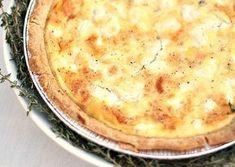 Tarte au poulet, chèvre et miel WW, recette d'une tarte salée savoureuse à base d'une pâte brisé légère, facile et rapide à faire pour vos repas du quotidien.