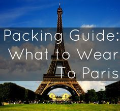 Dressing for a day out in Paris is always fun - and you can never be too prepared. I like to make sure I'm making the most of the space in my luggage.