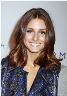 4. I wanted something that would be beautiful both straight and wavy. 5. My final decision was an Olivia Palermo long bob: