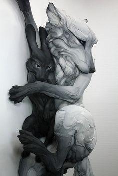 Spooky sculptures...