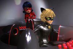Prodigiosa: las aventuras de Ladybug. Temporada 1 capítulo 15. Gamer. Cat Noir