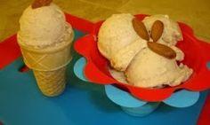 NUTTY PEACH ice CREAM, - (NO CREAM) recipe