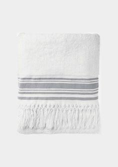 ANATOLIAN STRIPED BATH TOWEL by TOAST