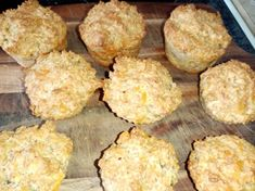 These delicious muffins have protein, calcium, fibre and are delicious served warm with butter or dipped into winter soup.  2 eggs (or, 2 tsp Orgran egg replacer + 4 Tbsp water) 1 1/4 cups milk 1/4 cup oil 1/2 tsp salt 1 Tbsp sugar 1 cup finely chopped rolled oats 1 cup wheat bran 1/4c wheat germ 1 1/2 cups grated cheddar cheese 1 1/2 cups plain flour 4 tsp baking powder Oat Muffins, Healthy Muffins, Healthy Snacks, Peanut Free Foods, Recipe Cover, Egg Free Recipes, Wheat Germ, Winter Soups, 2 Eggs