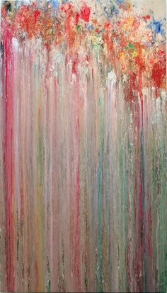 Larry Poons ~ Wiseman Lawrence Poons, better known as Larry Poons, is an abstract painter who was born in Tokyo, Japan. He studied from 1955 to 1957 at the New England Conservatory of Music, with the intent of becoming a professional musician. Contemporary Abstract Art, Modern Art, Post Painterly Abstraction, Colorful Paintings, Abstract Paintings, Art Paintings, Virtual Art, A Level Art, Illustrations