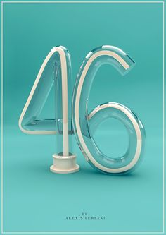 /// 100 Creativ Numbers /// on Behance