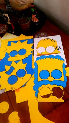 Simpsons party mas
