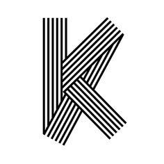 """""""Letter K / Exploration - @36daysoftype #36daysoftype #36days_K #typography…"""