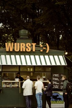 Free stock photo of lunch, germany, kiosk, line