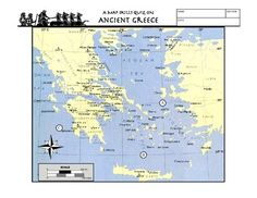 Worksheet Ancient Greece Latitude Longitude Questions & Map A six worksheet lesson on latitude and longitude using a map of Ancient Greece. It provides map reading practice as well as background information on Ancient Greece. There is a Key provided. Sixth Grade Science, 7th Grade Social Studies, Social Studies Classroom, Teaching Social Studies, Teaching Resources, Teaching Ideas, History Classroom, Teaching History, World History Lessons