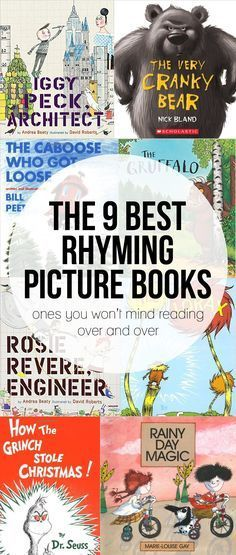 The Best Rhyming Picture Books that I don't mind reading over and over and over…