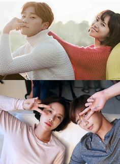 Hwang Jung Eum and Park Seo Joon in Kill Me, Heal Me and She Was Pretty