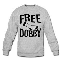 Free Dobby Unisex Crew harry potter