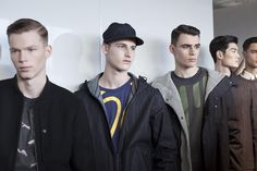 Backstage at London Collections Men AW16 | Christopher Raeburn #LCM