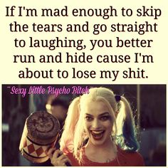 Joker Quotes : 23 Joker quotes that will make you love him more 35 best Harley Quinn Suicide Sq… – Humor bilder Bitch Quotes, Joker Quotes, Badass Quotes, True Quotes, Great Quotes, Quotes To Live By, Funny Quotes, Inspirational Quotes, Psycho Quotes