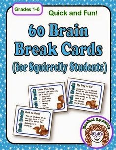 Brain breaks are an increasingly important aspect of daily classroom life. Here are 20 three-minute brain breaks to help you refocus your class! Classroom Organization, Classroom Management, Classroom Ideas, Classroom Icebreakers, Behaviour Management, Class Management, Future Classroom, Fun Brain, Brain Gym