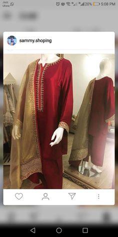 Pakistani Fashion Casual, Pakistani Outfits, Ethnic Fashion, Indian Fashion, Punjabi Fashion, Indian Suits, Indian Attire, Simple Dresses, Cute Dresses