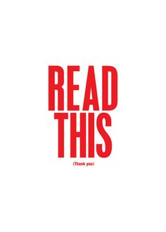 by Anthony Burrill http://www.anthonyburrill.com/