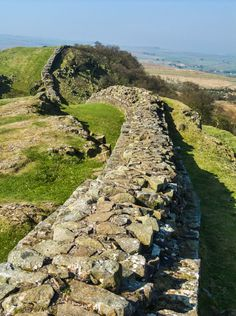 The end of the Empire by Bill McKelvie, via 500px; Hadrian's Wall, northern boundary of the Roman Empire, Northcumberland, England