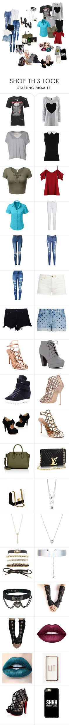 """""""shopping spree"""" by cobrakai72 ❤ liked on Polyvore featuring Topshop, Acne Studios, Boohoo, LE3NO, Joe Browns, WithChic, Tommy Hilfiger, Yves Saint Laurent, rag & bone and STELLA McCARTNEY"""