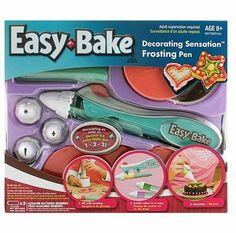Easy Bake Decorating Pen Kit by Hasbro, http://www.amazon.com/dp/B00196VDTQ/ref=cm_sw_r_pi_dp_cCebsb18J4YXX