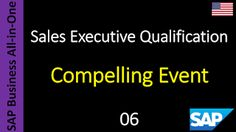 SAP - Course Free Online: 06 - Compelling Event