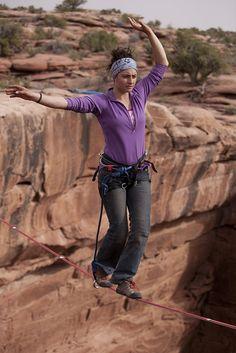 Balancing at extreme height!